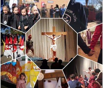 Nuestros colegios celebran la Cuaresma y la Pascua con gran diversidad de actividades