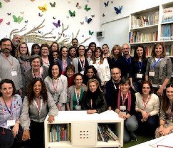 Visita al colegio de Valdefierro dentro del Programa de Innovación 43,19 (27 de febrero)