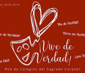 Lema del curso 2018-2019: ¡Vive de Verdad!
