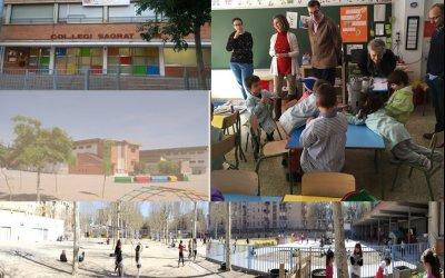 El Equipo RED visita los colegios de Valdefierro (Zaragoza)…